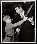 Baseball Collectibles:Photos, 1950 Joe DiMaggio Original Photograph.. ...