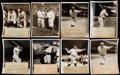 Baseball Collectibles:Photos, Babe Ruth Type II Photograph Collection (10). . ...