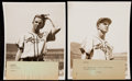 Baseball Collectibles:Photos, Stan Musial Type II Photograph Pair (2). . ...