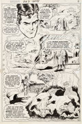 Original Comic Art:Panel Pages, Curt Swan and Murphy Anderson Superman