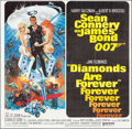 "Movie Posters:James Bond, Diamonds are Forever (United Artists, 1971). International SixSheet (77"" X 78.75""). James Bond.. ..."