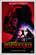 "Movie Posters:Science Fiction, Revenge of the Jedi (20th Century Fox, 1982). One Sheet (27"" X 41"") Advance. Science Fiction.. ..."