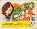 "Movie Posters:Crime, The Brasher Doubloon (20th Century Fox, 1946). Half Sheet (22"" X 28""). Crime.. ..."