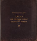 Books:Maps & Atlases, Capt. Clarence E. Dutton. Atlas to Accompany the Monograph on the Tertiary History of the Grand Cañon District....