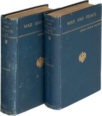 [Leo Tolstoy]. Count Lyof N. Tolstoi. War and Peace. From the Russian by Nathan Haskell Dole. N