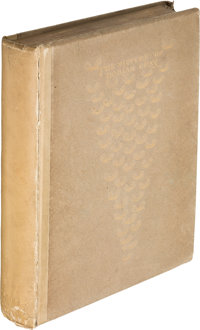 Oscar Wilde. The Picture of Dorian Gray. London: Ward Lock and Co., 1891. First English edition