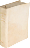 Books:Literature 1900-up, James Joyce. Ulysses. Paris: Shakespeare and Company, 1922. First edition. One of 150 numbered copies on vergé d...