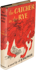 Books:Literature 1900-up, J. D. Salinger. The Catcher in the Rye. Boston: Little, Brown and Company, 1951. First edition, tenth printing (Sept...