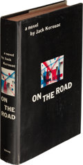 Books:Literature 1900-up, Jack Kerouac. On the Road. New York: The Viking Press, 1957.Second printing. Presentation copy, inscribed by ...