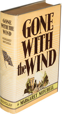 Margaret Mitchell. Gone with the Wind. New York: The Macmillan Company, 1936. First edition