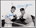Autographs:Photos, Mickey Mantle and Stan Musial Multi-Signed Photograph. ...