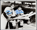 Autographs:Photos, Mickey Mantle and Stan Musial Dual Signed Photograph. ...