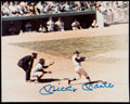 Autographs:Photos, Mickey Mantle Signed Photograph. . ...