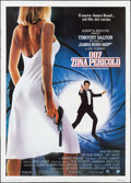 "Movie Posters:James Bond, The Living Daylights (MGM/US, 1987). Italian 4 - Fogli (55"" X76.75""). James Bond.. ..."