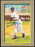 "Autographs:Post Cards, 1990 Cool Papa Bell Signed Perez-Steele ""Great Moments"" Card.. ..."