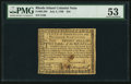 Colonial Notes:Rhode Island, Rhode Island July 2, 1780 $20 PMG About Uncirculated 53.. ...