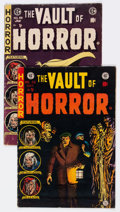 Golden Age (1938-1955):Horror, Vault of Horror #38 and 40 Group (EC, 1954).... (Total: 2 ComicBooks)