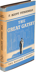 Books:Literature 1900-up, F. Scott Fitzgerald. The Great Gatsby. New York: The Modern Library, [1934]. First Modern Library edition, present...