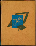 """Football Collectibles:Publications, 1946 LSU """"The Gumbo"""" Yearbook With Y.A. Tittle...."""