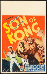 "Son of Kong (RKO, 1933). Window Card (14"" X 22""). Horror"