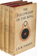 Books:Science Fiction & Fantasy, J. R. R. Tolkien. The Lord of the Rings. London: [1959-1960]. First edition, later printings....