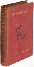 Books:Literature Pre-1900, H. G. Wells. The Invisible Man. A Grotesque Romance.London: 1897. First edition. ...