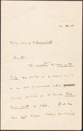Books:Literature Pre-1900, H.G. Wells. Autograph Letter, Signed. Spade House, Sandgate: 1905. Original letter on Wells's stationery....