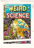 Original Comic Art:Miscellaneous, Wally Wood (printed) and Marie Severin Weird Science #9Cover Hand-Colored Print (Russ Cochran, 1973)....