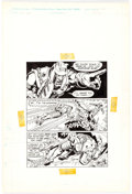 Original Comic Art:Panel Pages, Mark Texeira and Tod Smith Master of the Universe: He-Man MeetsRam-Man! Promotional Comic Story Page 2 Original A...