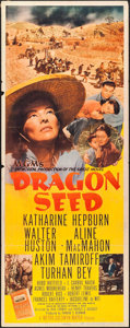 "Movie Posters:War, Dragon Seed (MGM, 1944). Insert (14"" X 36""). War.. ..."