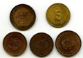Mexico, Mexico: Quintet of Uncertified Revolutionary Minors,... (Total: 5coins)