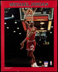 Autographs:Others, 1980's Michael Jordan Signed Starline Poster. ...