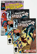 Modern Age (1980-Present):Superhero, The Amazing Spider-Man #238, 239, and 265 Group of 4 (Marvel,1983-85) Condition: Average FN/VF.... (Total: 4 Comic Books)