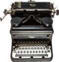 Miscellaneous:Ephemera, [Mickey Spillane]. Royal KHM Typewriter. [New York: RoyalTypewriter Company, circa 1934 (or as late as 1938)]. MickeySpill...