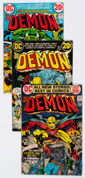 Bronze Age (1970-1979):Superhero, The Demon #1-16 Complete Series Group (DC, 1972-74) Condition:Average FN.... (Total: 17 Comic Books)