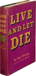Books:Mystery & Detective Fiction, Ian Fleming. Live and Let Die. London: Jonathan Cape,[1954]. First edition....