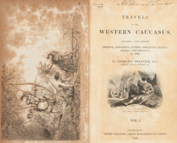 Edmund Spencer. Travels in the Western Caucasus. London: 1838. First edition