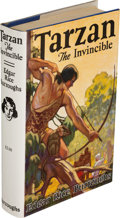 Books:Science Fiction & Fantasy, Edgar Rice Burroughs. Tarzan the Invincible. Tarzana:[1931]. First edition....
