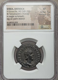 Ancients:Roman Provincial , Ancients: SYRIA. Antioch. Herennia Etruscilla (AD 249-253). BItetradrachm (15.63 gm). NGC XF 5/5 - 3/5....