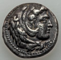 Ancients:Greek, Ancients: MACEDONIAN KINGDOM. Alexander III the Great (336-323 BC).AR tetradrachm (17.13 gm). XF....
