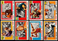 Football Cards:Sets, 1955 Topps All-American Football Partial Set (62/100). . ...
