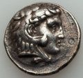 Ancients:Greek, Ancients: MACEDONIAN KINGDOM. Alexander III the Great (336-323 BC).AR tetradrachm (16.96 gm). VF, banker's mark....