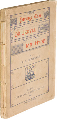 Robert Louis Stevenson. Dr. Jekyll and Mr. Hyde. London: Longmans, Green and Co., 1886. First E