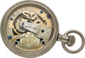 Timepieces:Pocket (pre 1900) , Parsons Institute Peoria Ill. School Watch By Walter H. MellorMichigan City Ind.. ...