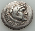 Ancients:Greek, Ancients: MACEDONIAN KINGDOM. Alexander III the Great (336-323 BC).AR tetradrachm (16.18 gm). Choice Fine....