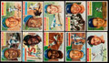 Baseball Cards:Sets, 1956 Topps Baseball Near Set (339/340) Plus Both Checklists....