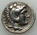 Ancients:Greek, Ancients: SELEUCID KINGDOM. Seleucus I Nicator (312-281 BC). ARtetradrachm (16.78 gm). About VF....
