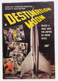 Golden Age (1938-1955):Science Fiction, Fawcett Movie Comic #nn Destination Moon (Fawcett Publications,1950) Condition: GD/VG....