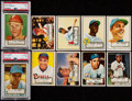 Baseball Cards:Sets, 1952 Topps Baseball Middle Series (#'s 81-250) Complete Run (170). ...