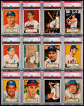 Baseball Cards:Sets, 1952 Topps Baseball Near-Complete First Series (#'s 1-80). ...